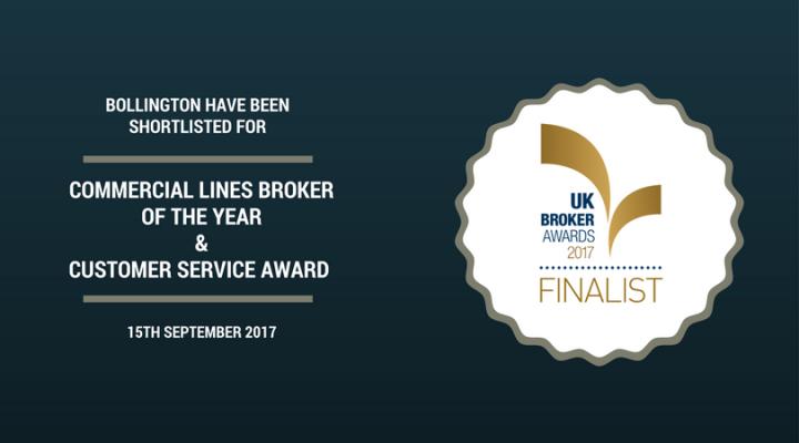 Bollington UK Broker Awards 2017