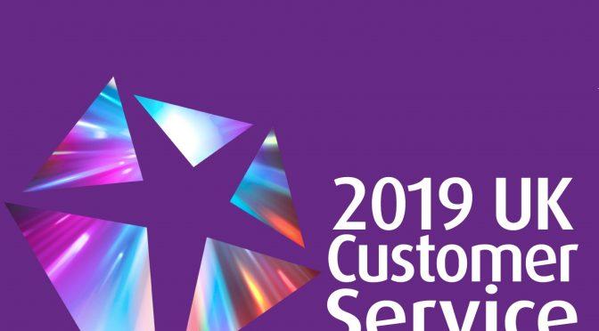 Shortlisted 2019 UK Customer Service Excellence Awards